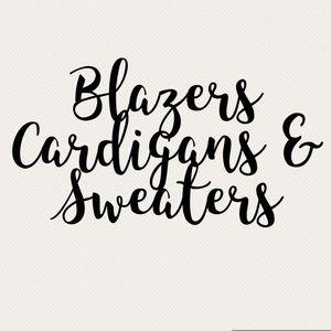 ✨ Jackets , Blazers, Cardigans & Sweaters ✨